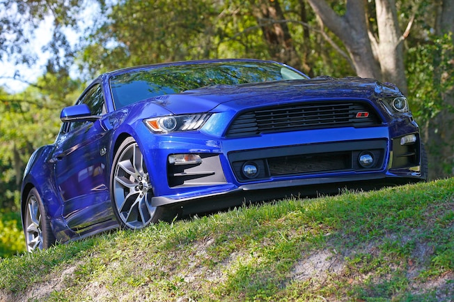 2015 2016 Ford Mustang Roush Front Fascia Install 01