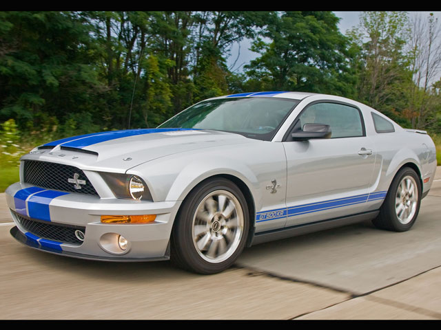 Woodward Pre Cruise Ford Mustangs Gt500