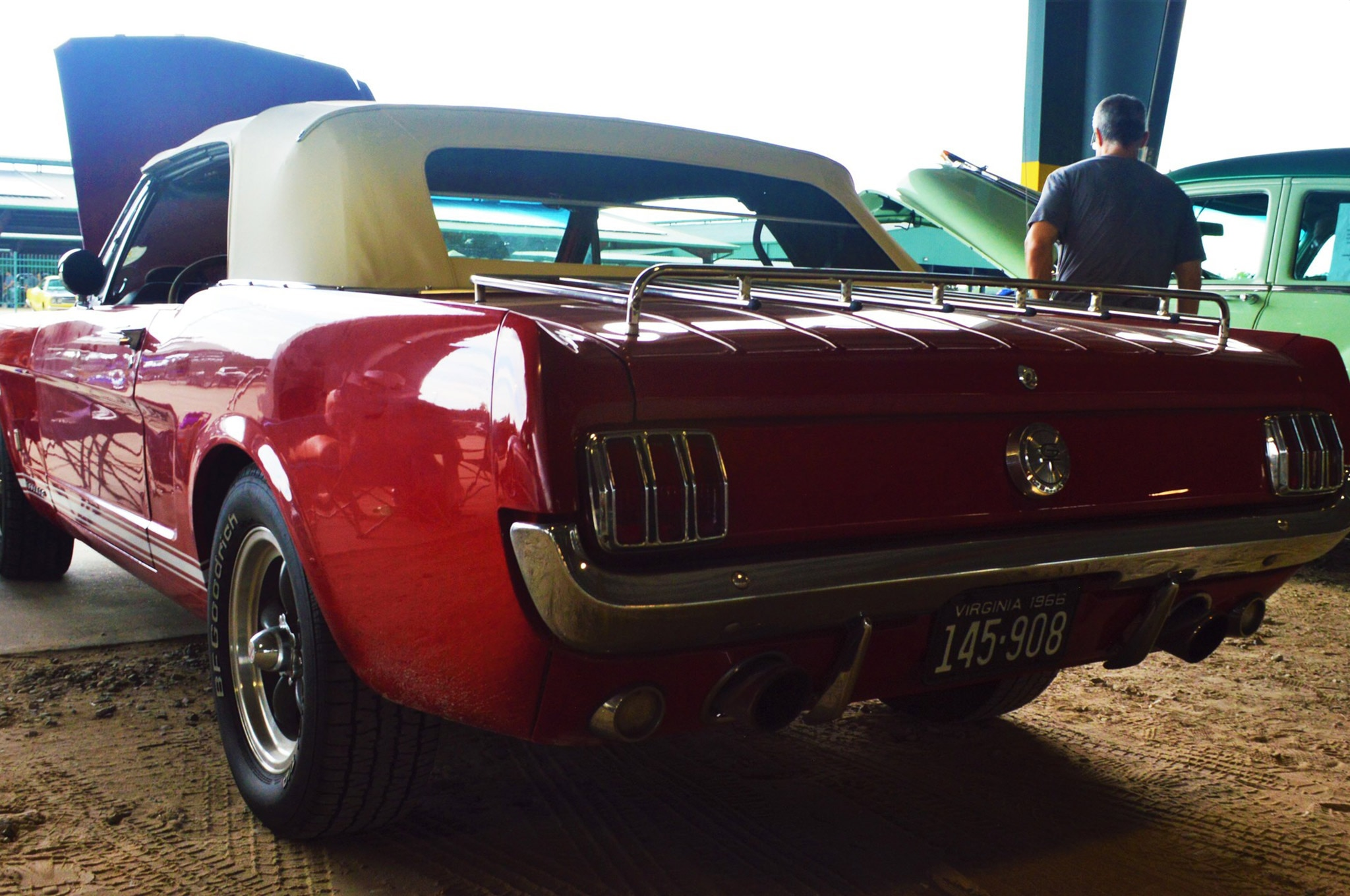 2016 Hot Rod Power Tour Day 1 Mustangs 014