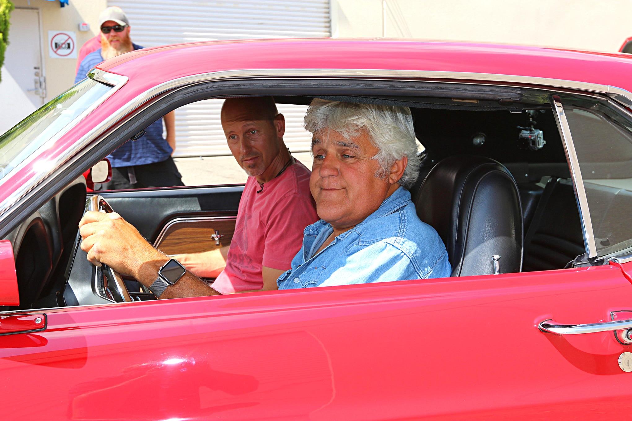 1969 Ford Mustang Boss 429 Jay Leno Garage 015