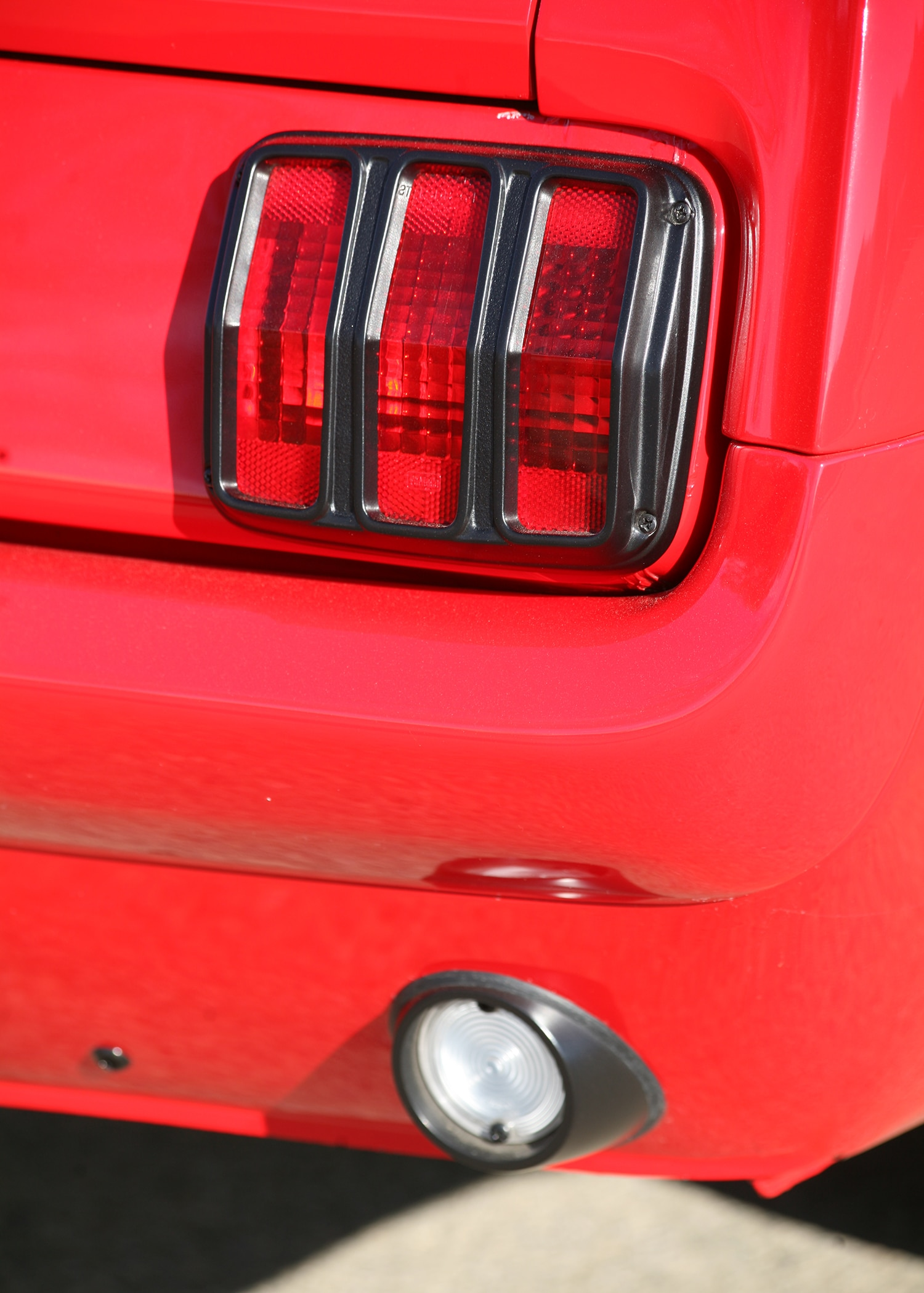4 1966 Ford Mustang Taillight