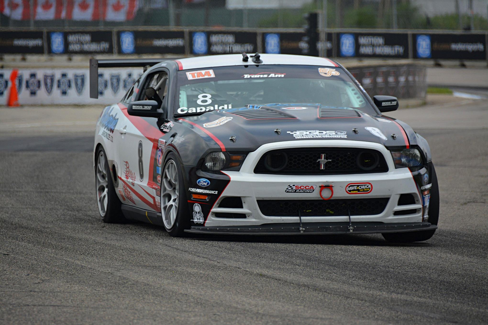 013 Mustang Transamrace Detroitgp