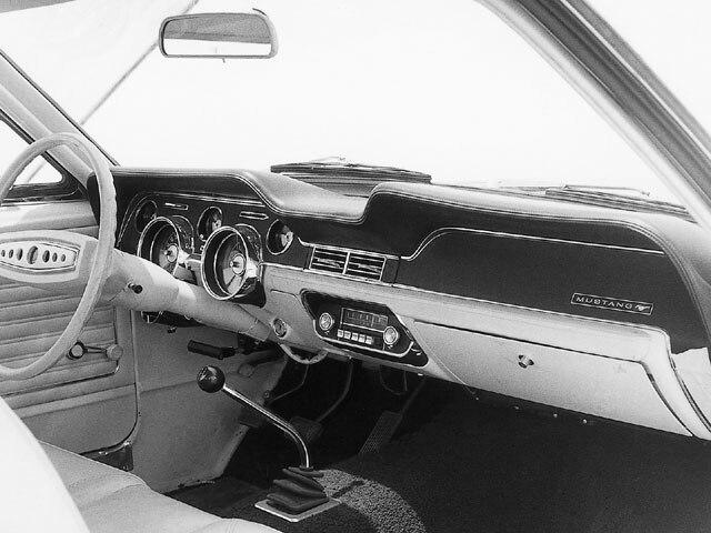 Mump 0101 01 Z 1969 Ford Mustang Boss 429 1966 Ford Mustang Convertible Restore Interior View