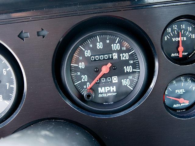 Mdmp 0809 06 Z 1983 Ford Mustang Gt Speedometer