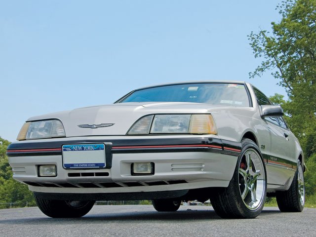 1988 Ford Thunderbird Turbo