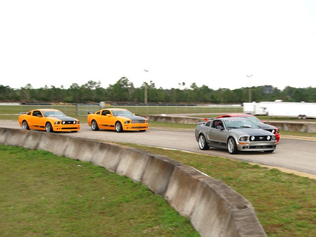 Steeda Track Day Mustangs Racing
