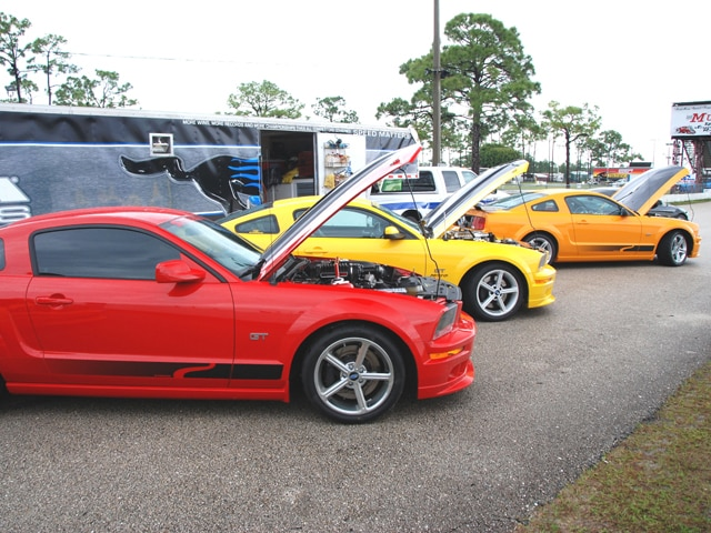 Steeda Track Day Mustangs