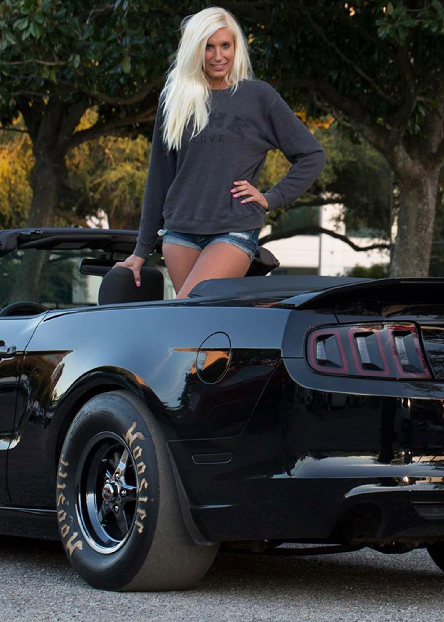 2013 Ford Mustang Gt Malorie Woods Inside Car