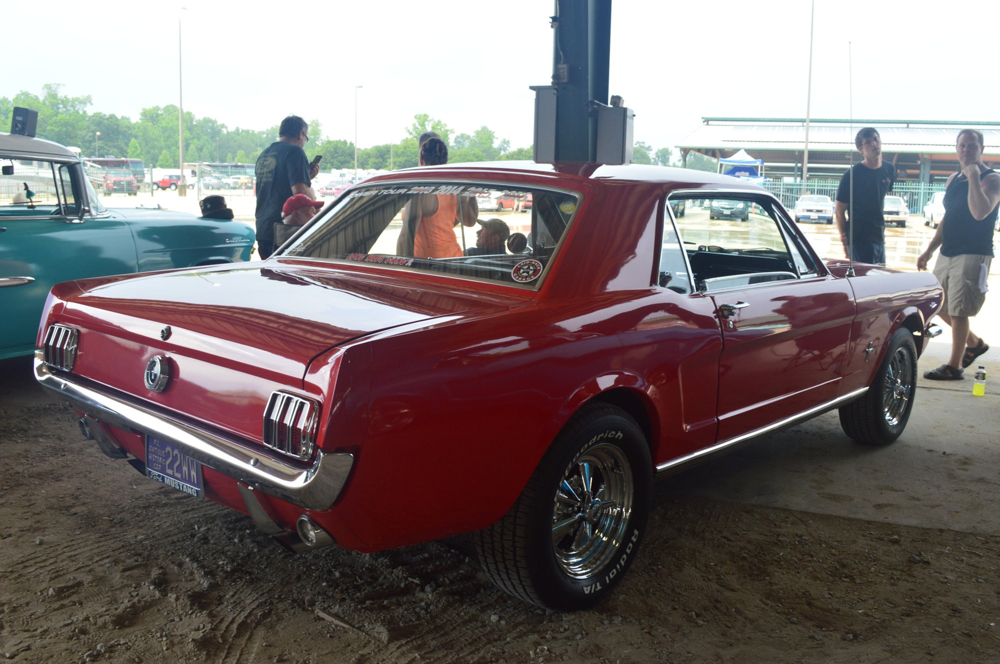 2016 Hot Rod Power Tour Day 1 Mustangs 027