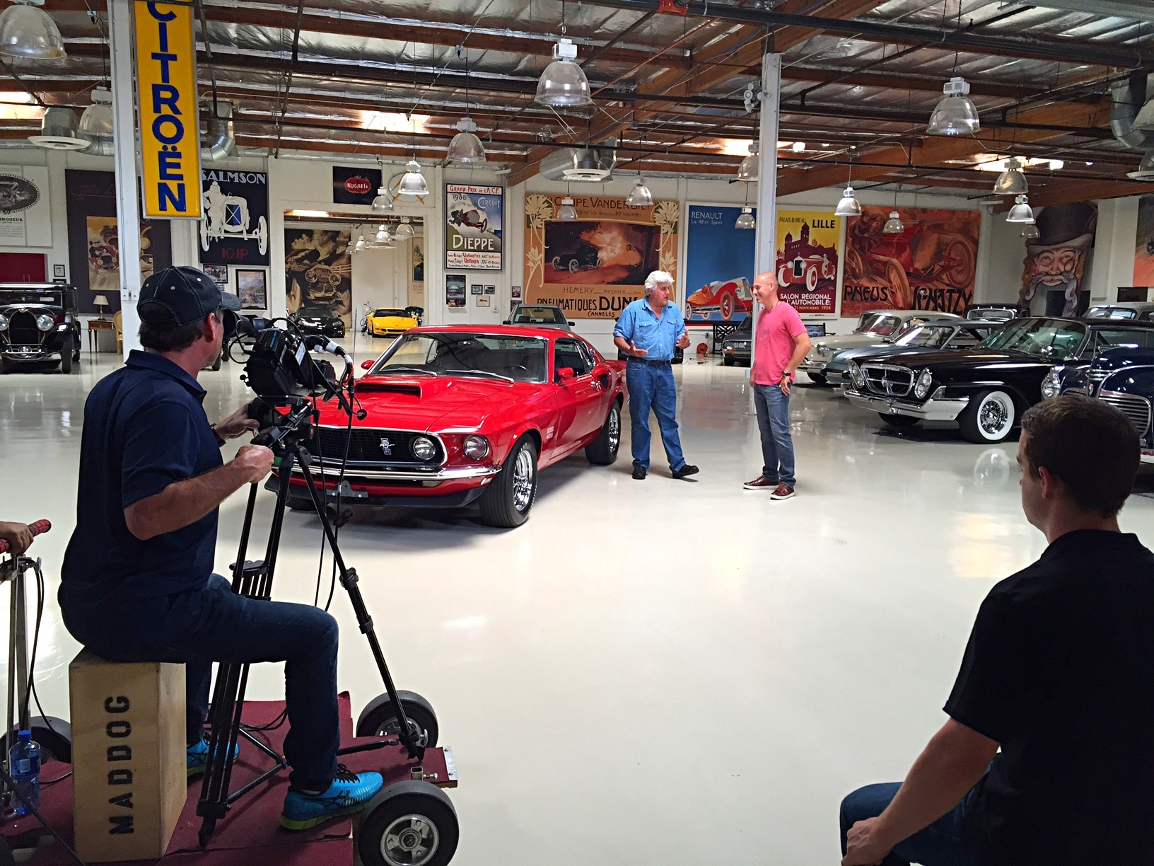 1969 Ford Mustang Boss 429 Jay Leno Garage 026