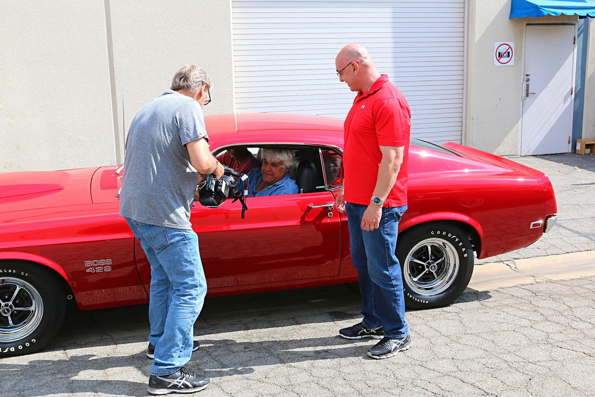1969 Ford Mustang Boss 429 Jay Leno Garage 016