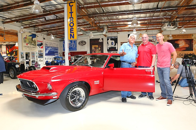 1969 Ford Mustang Boss 429 Jay Leno Garage 001