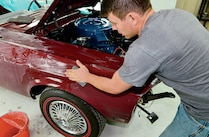 1968 Ford Mustang Convertible Wet Sanding