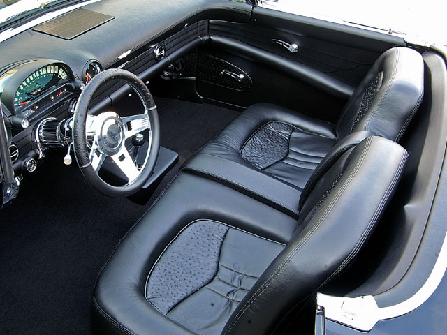 1956 Ford Thunderbird Interior Seats