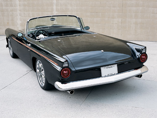 1956 Ford Thunderbird Backside