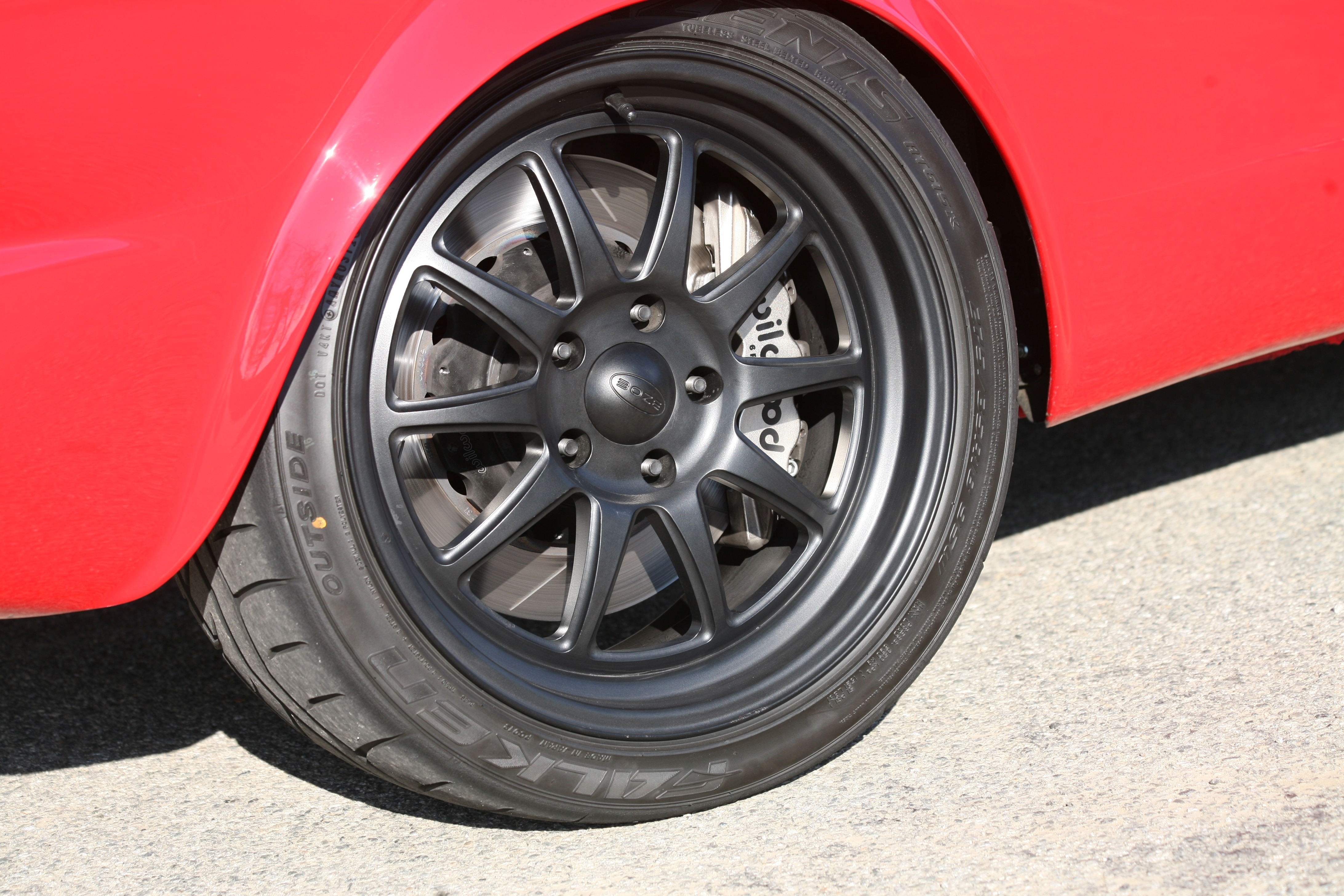 3 1966 Ford Mustang Wheel