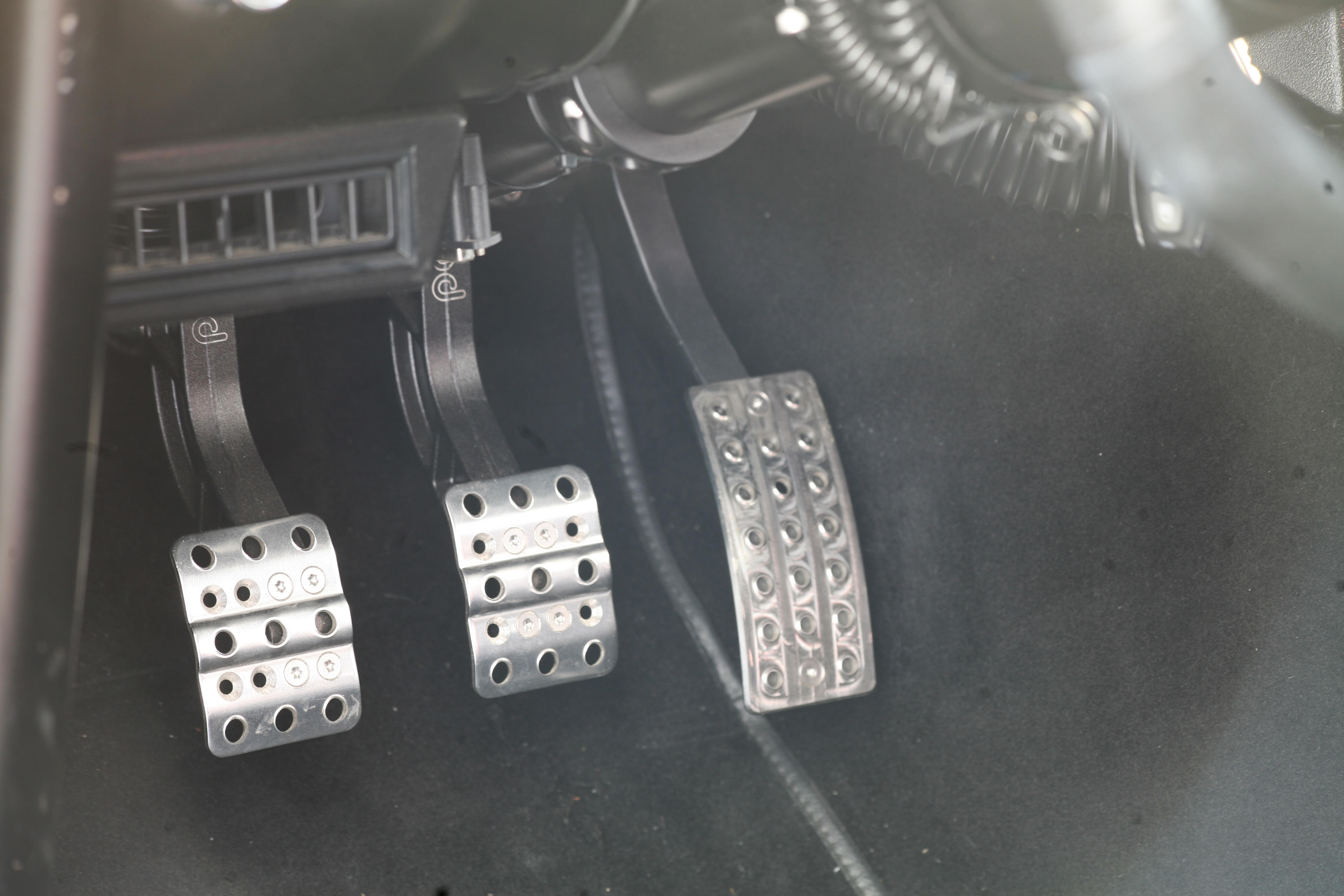 8 1966 Ford Mustang Pedals