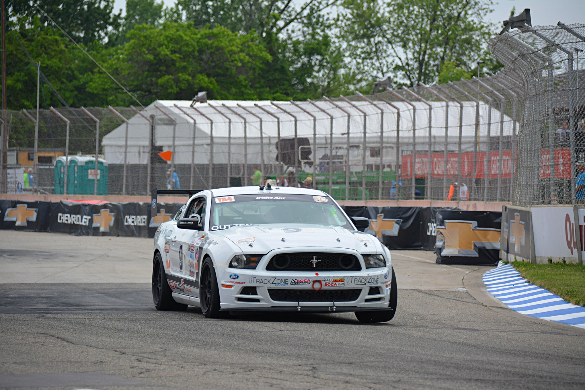 011 Mustang Transamrace Detroitgp