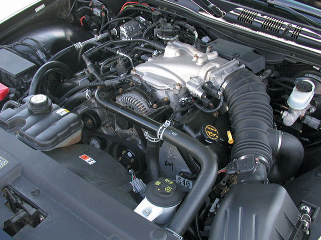 2003 Mercury Marauder Engine