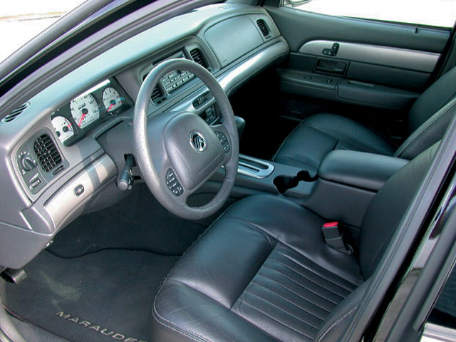 2003 Mercury Marauder Interior