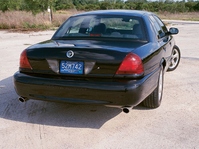 2003 Mercury Marauder Backview