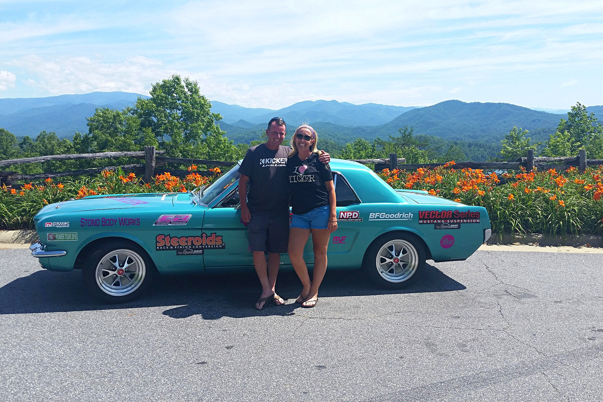 2016 Hot Rod Power Tour Day 7 Mustangs 25