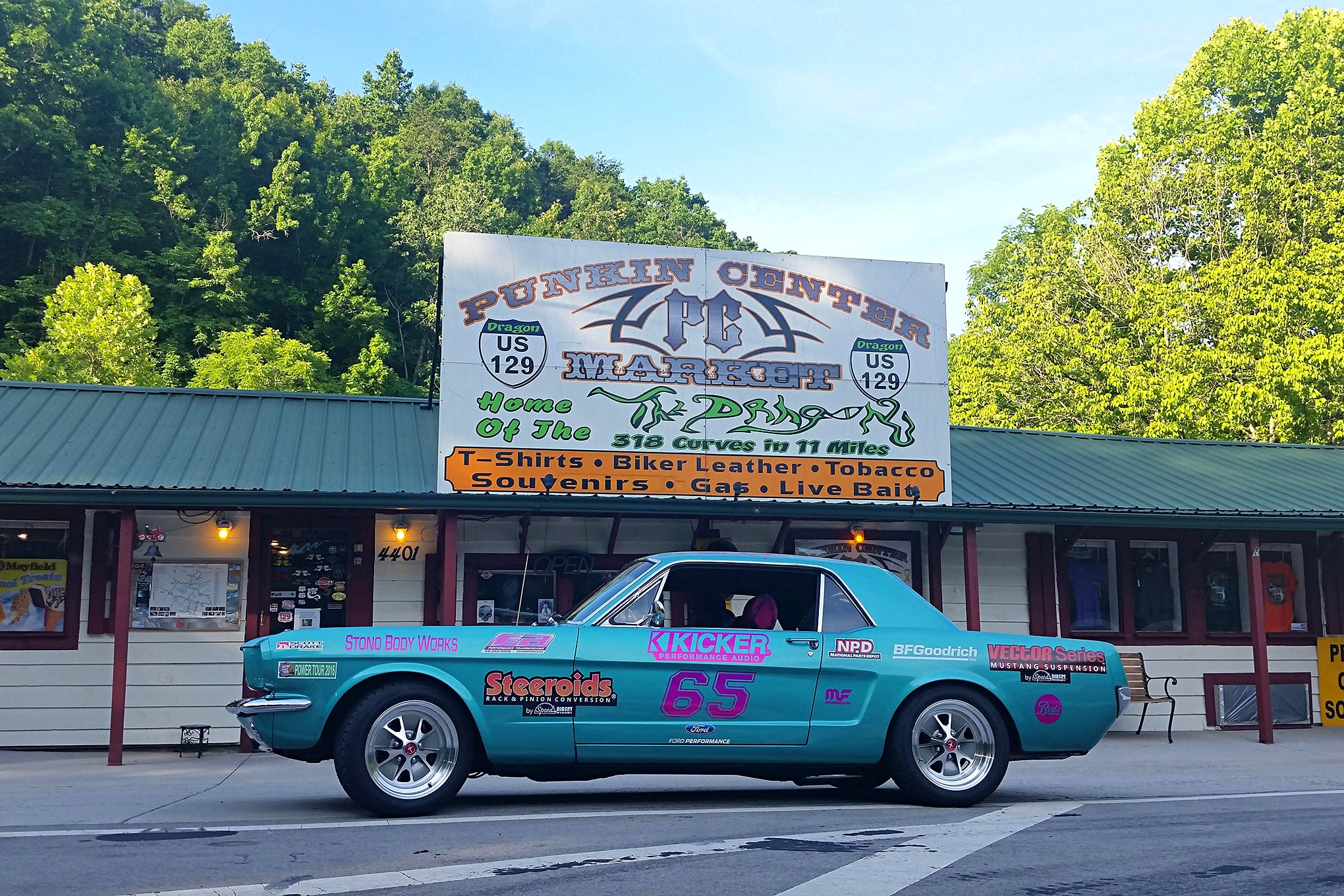 2016 Hot Rod Power Tour Day 7 Mustangs 21