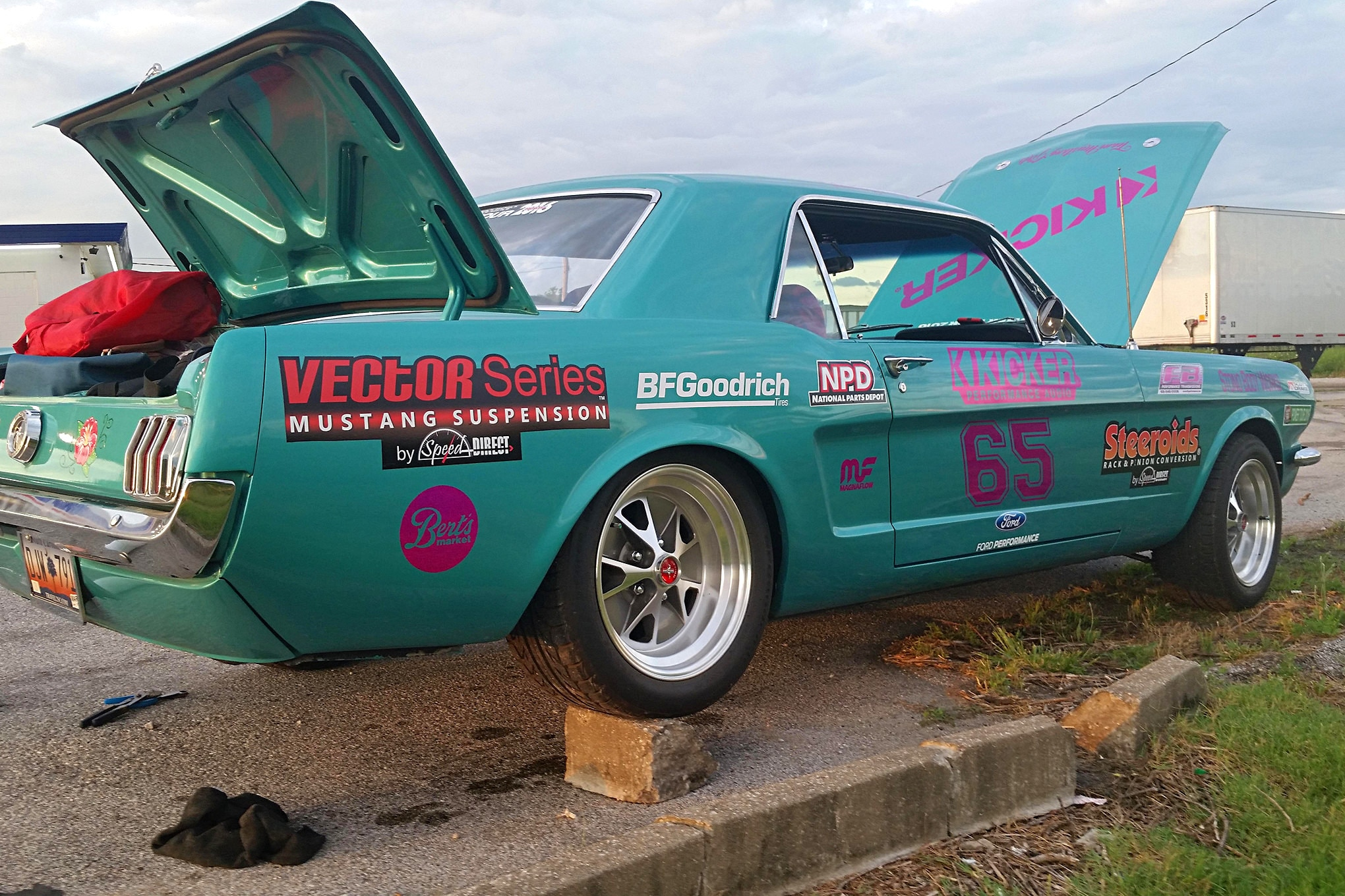 2016 Hot Rod Power Tour Day 7 Mustangs 19