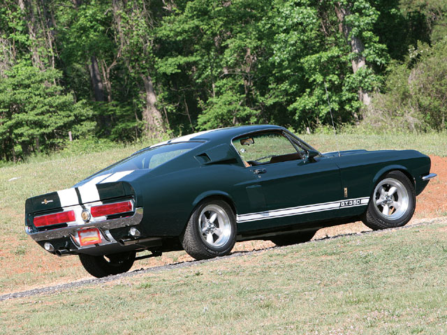 1967 Ford Mustang Shelby Gt350 Backview