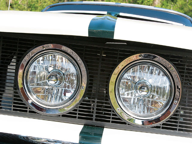 1967 Ford Mustang Shelby Gt350 Headlights