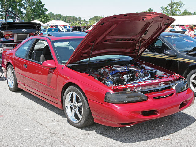 1995 Thunderbird Super Coupe Front View