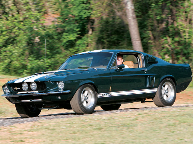 1967 Ford Mustang Shelby Gt350 Sideview