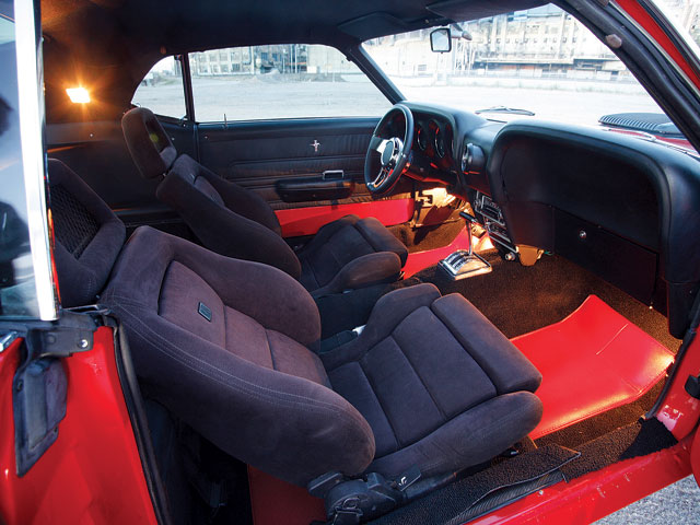 1969 Mustang Sportsroof Interior Seats