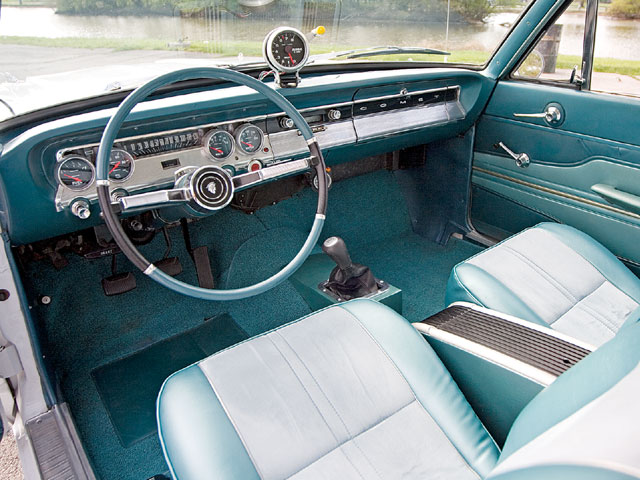 1964 Mercury Comet 404 Dash
