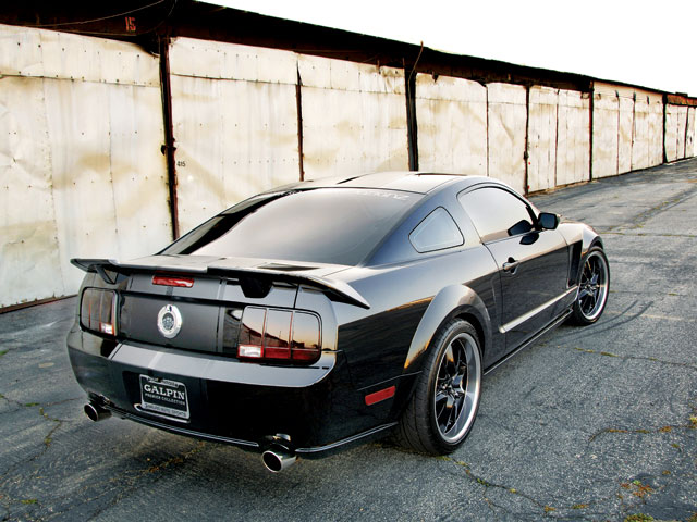 2006 Mustang Gt Backview