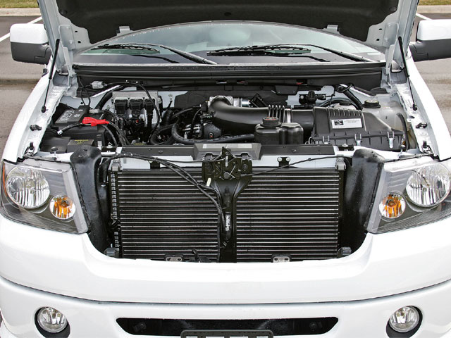 2008 Roush Nitemare Engine View
