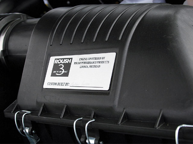 2008 Roush Nitemare Engine Cover