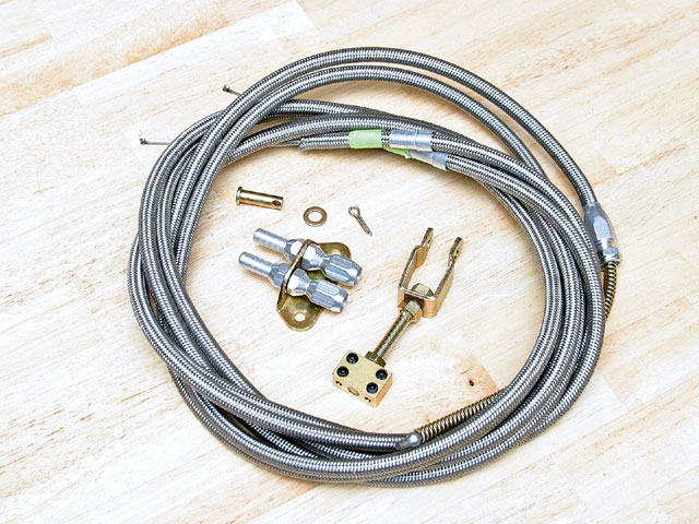 Brake Installation Wires
