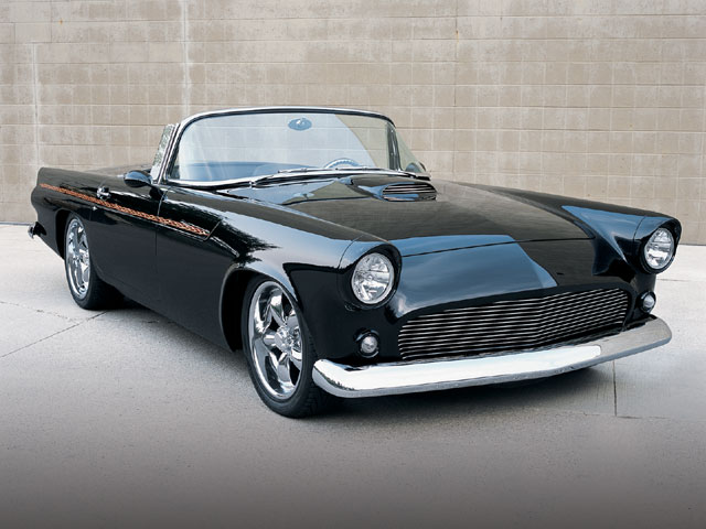 1956 Ford Thunderbird Front Side