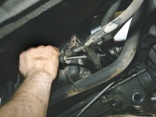 Steering And Handling Loosen Bolts