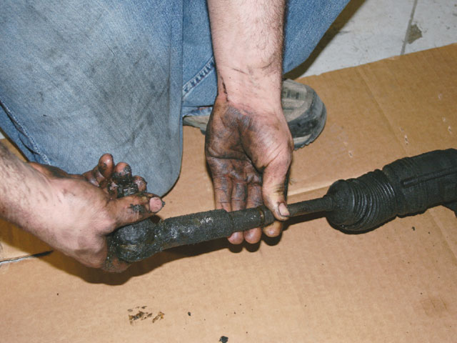 Steering And Handling Old Outer Tie Rod