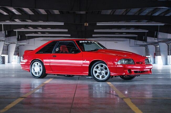 1993 Ford Mustang Svt Cobra Red Side