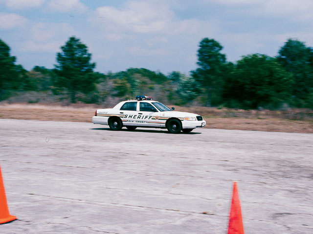 2003 Mercury Marauder Sheriff Car