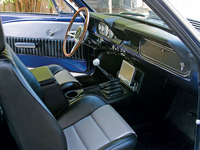 1965 Mustang Coupe Interior