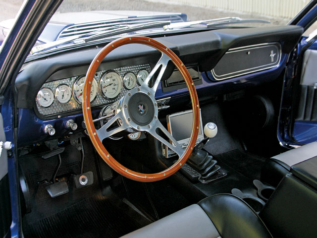 1965 Mustang Coupe Steering Wheel