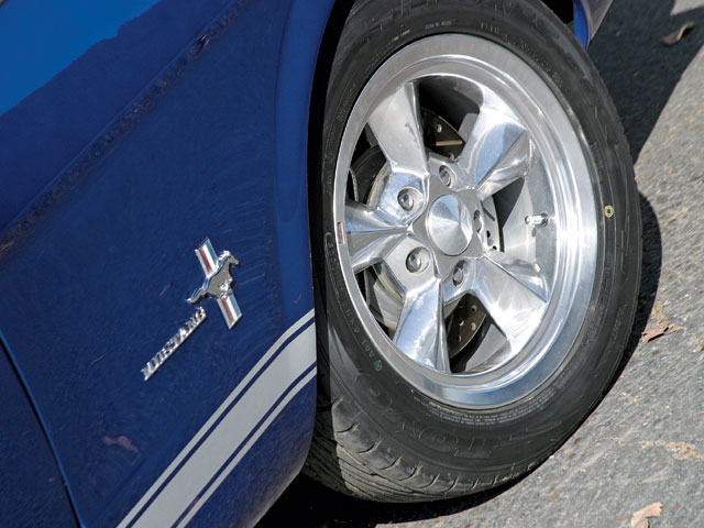 1965 Mustang Coupe Wheels