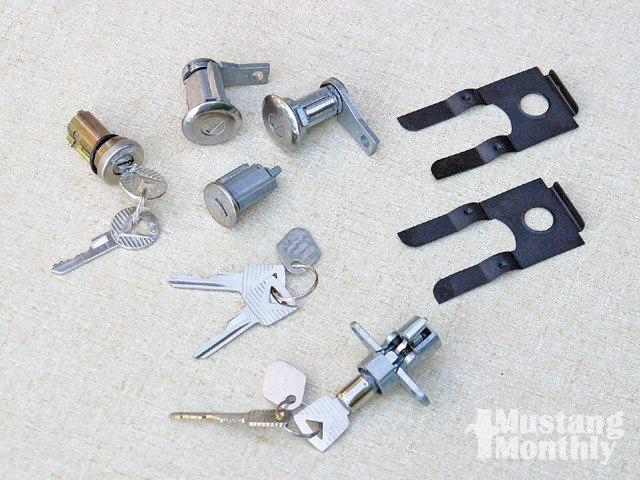 Mump 0811 02 Z Vintage Mustang Door Locks And Cylinders