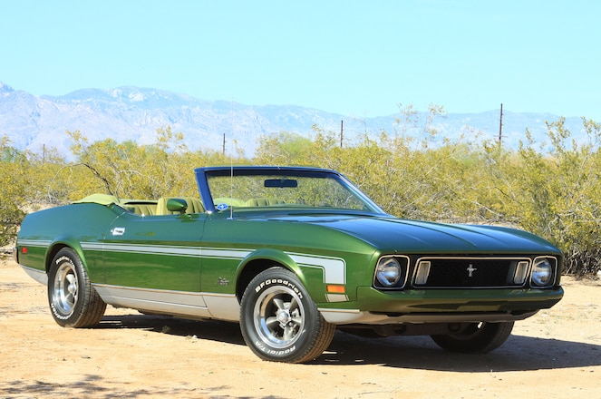 Survivor 1973 Ford Mustang Convertible