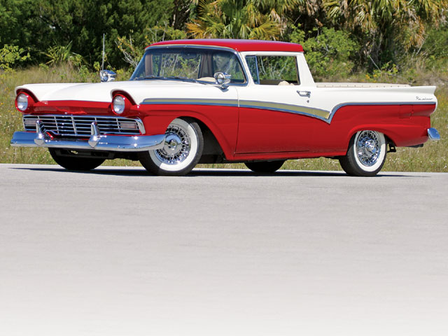 1957 Ford Ranchero Side View
