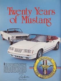 Mustang's 20th Anniversary Special - Lookback - Mustang